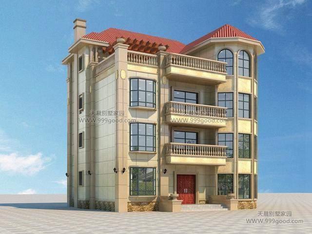 农村自建房设计图, 飘窗带你亲近大自然!
