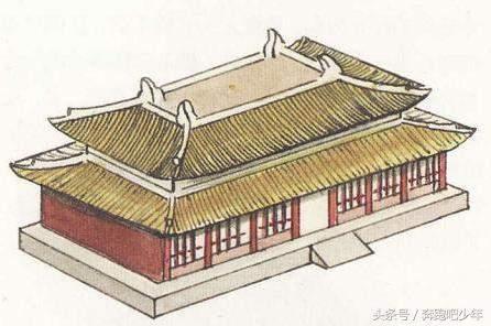 硬山建筑结构图