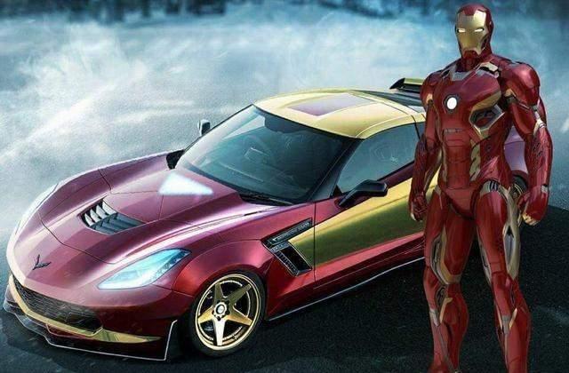 超级英雄都开什么车?_蜘蛛侠开法拉利,_超人开布加迪