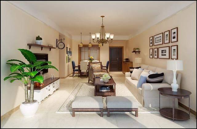 遵义装修丨遵义丰立装饰丨新房客厅装修效果图 房子装修设计图片