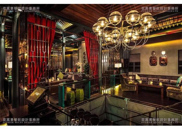 184@365花万里特色餐厅设计-100㎡年营收100万, 现在有13间分店