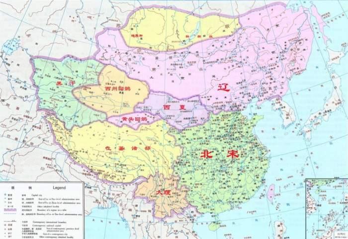 清朝咸丰年地图
