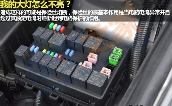 在改动汽车电路前,一定要事先了解汽车原厂用电器的功率和最大负载
