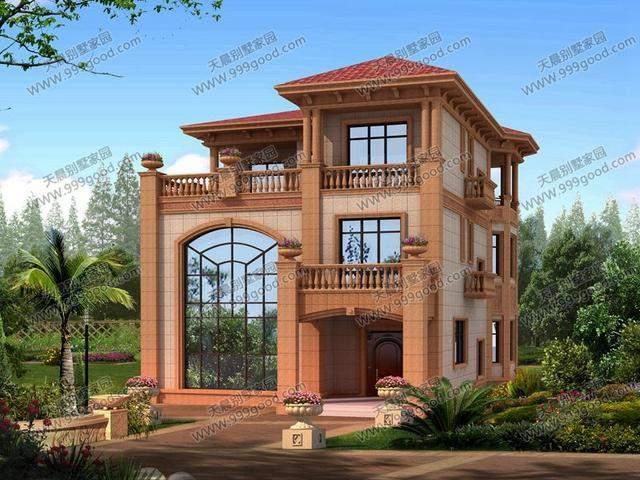 农村8套精选别墅设计图, 每套盖完都比效果图好看