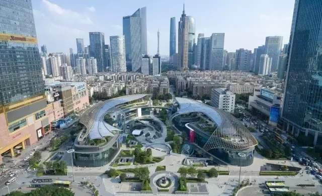 广州中轴线风水特辑(三):太极双鲤--天環广场