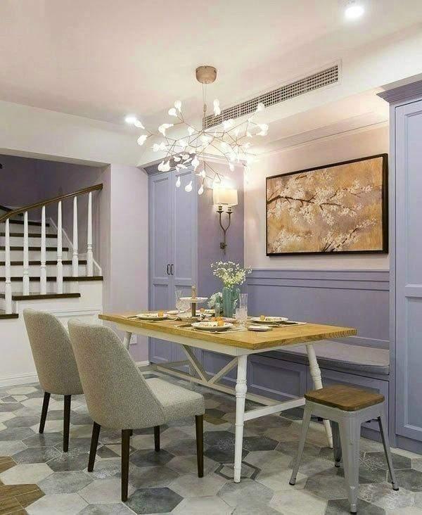 小户型文艺清新的家庭餐厅设计