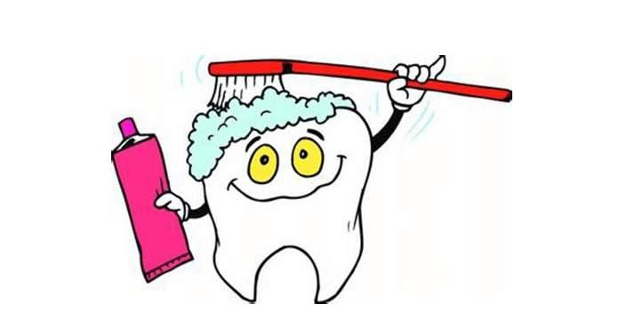 没有牙齿就不会蛀牙