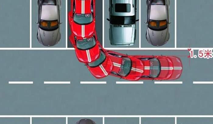 新手停车入位步骤技巧