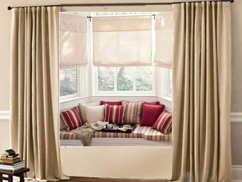 飘窗的窗帘到底是轨道还是罗马杆, 70%的人考虑的都不