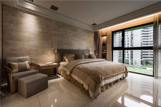 唐山勒泰城三室两厅150平米北欧风格装修案例效果