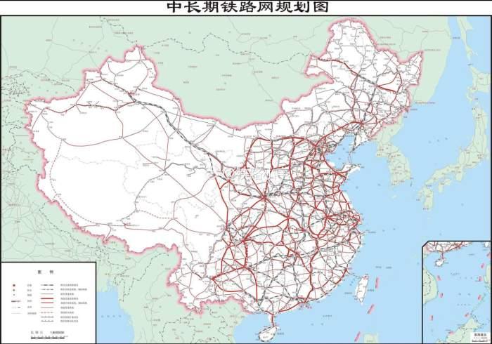 山东半岛内部的济南,潍坊,青岛,烟台等地的(准)高铁联通,要么已经实现