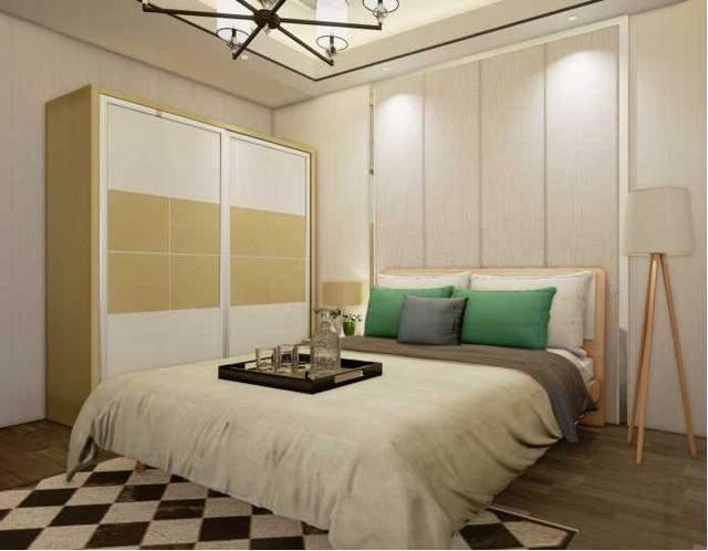 95平米混搭风格三室两厅装修效果图 这样漂亮的装修谁人不爱