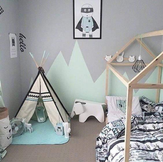 三角形的蒙古包蚊帐既精致美观又可爱十足,小孩子一定喜欢的不得了.