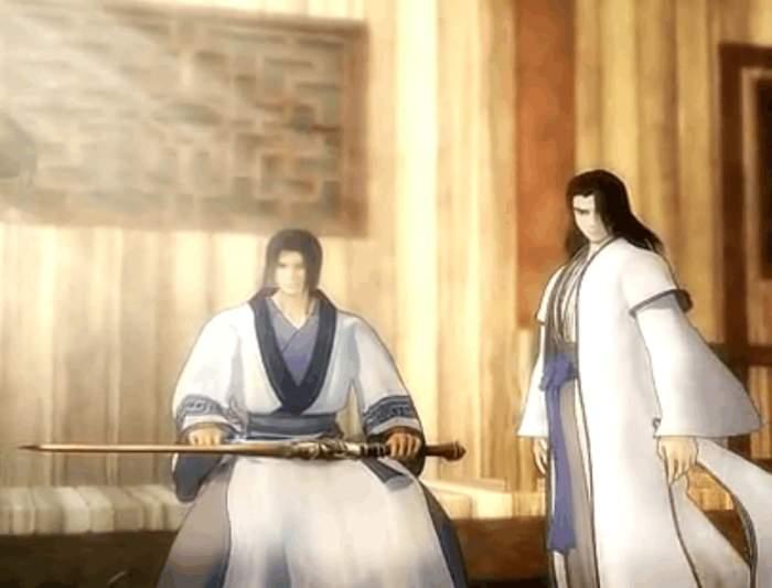 当时,端木蓉身重剧毒,盗跖看到盖聂还一旁安心的削着木剑,数落了他一