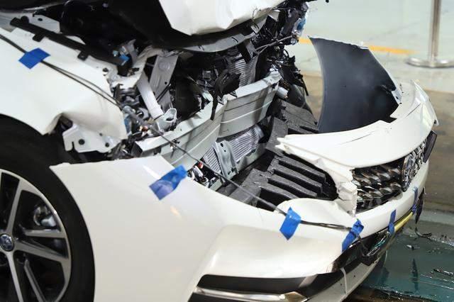 启辰d60碰撞解析 车体结构存隐患