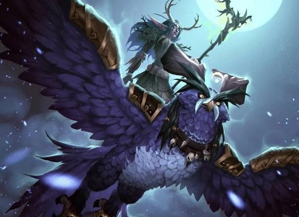 德鲁伊——月翼形态