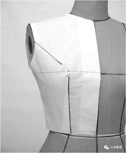 原型女上衣立裁-详细步骤