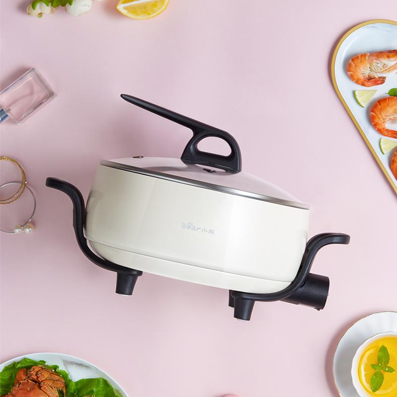 这款时髦的多功能电炒锅,真的太太太实用了