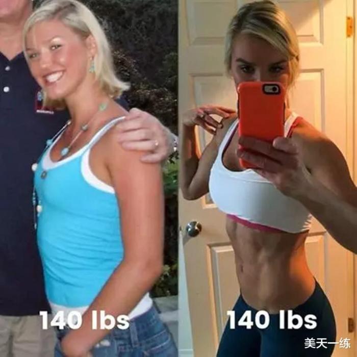 想减肥,体型好才是王道,不要只关心自己的体重了