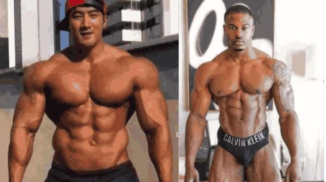 黑种人与黄种人同时健身1年,两者之间的肌肉差距有多大?
