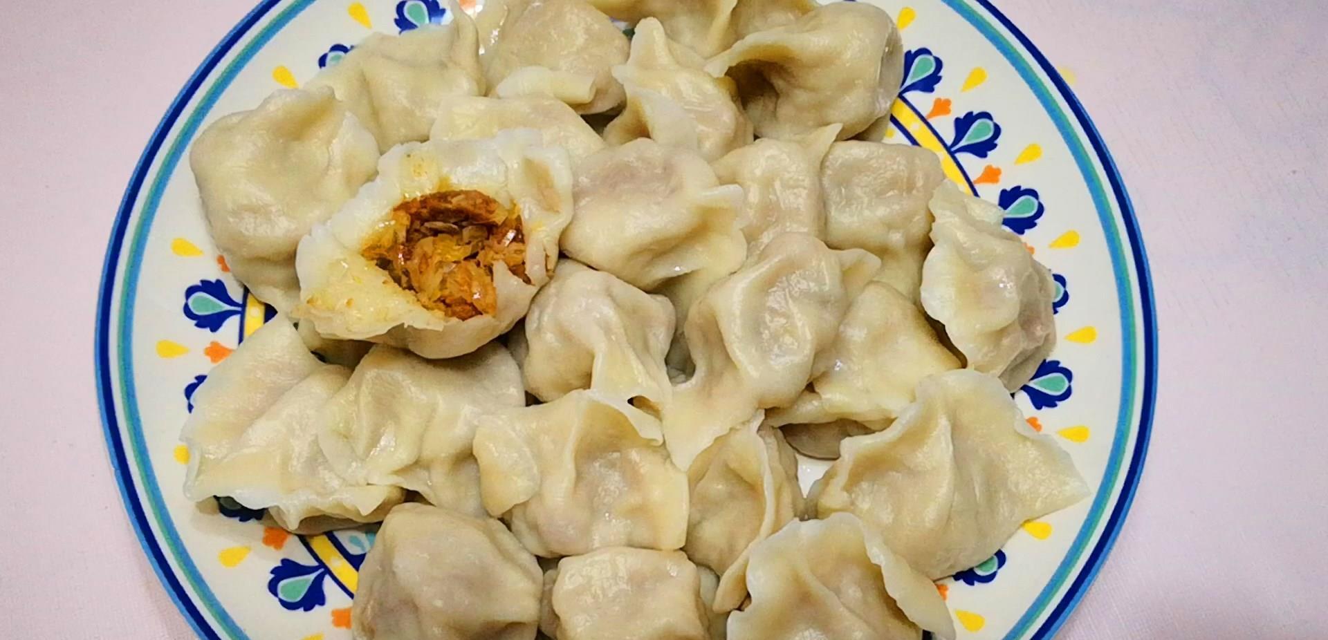 酸菜饺子好吃有诀窍,只需学会这个调馅方法,酸菜没异味,味道香