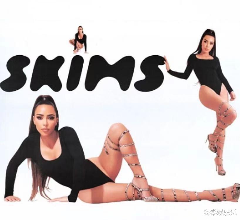 卡戴珊穿连体泳衣拍大片,腰臀比吸睛美成金刚芭比,仰拍意外走光