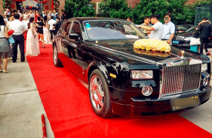 劳斯莱斯婚车出租,劳斯莱斯幻影婚车