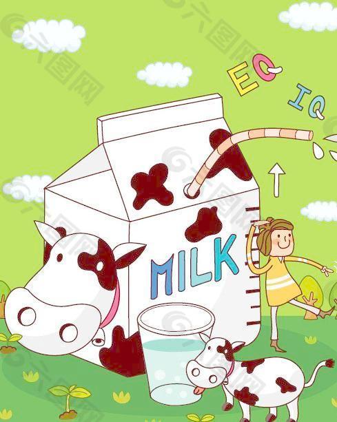 孩子多大可以喝牛奶