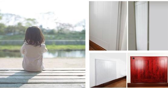 有暖气片能装满墙窗帘吗,暖气片管道改到墙里