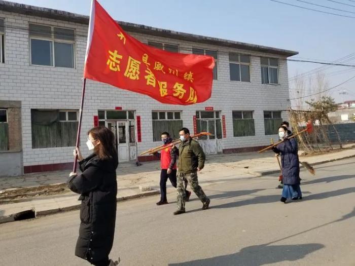 威州镇用图文记录下防控狙击的全过程