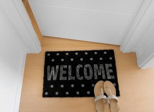 玄关地垫什么材质好,门口玄关怎么放地垫