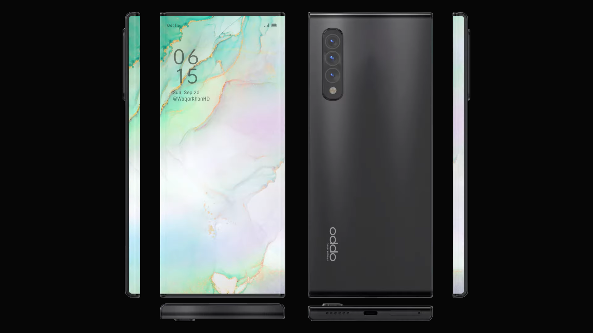 iPhone12迎来对手:2K瀑布屏5nm芯片125W闪充 OPPO开始秀实力