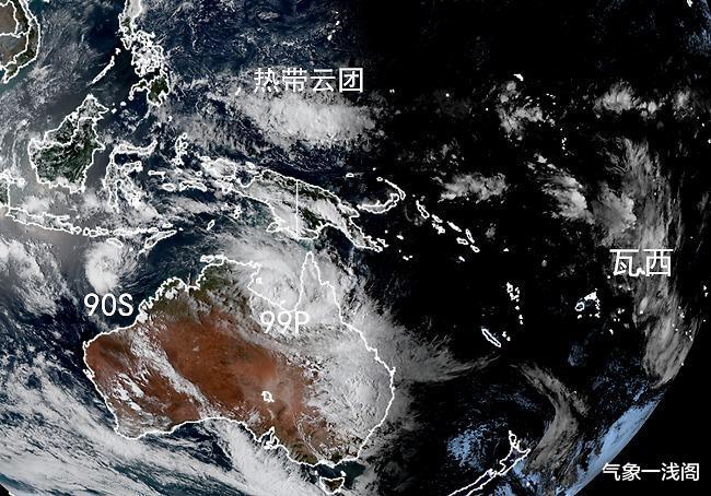 再降1级,风暴瓦西大转向开启,双热带低压再生成,或成双强台风