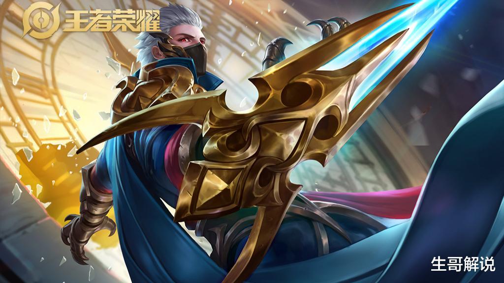 王者荣耀最值得苦练的射手,爆发比虞姬高,跑得比孙尚香快,无视兰陵王