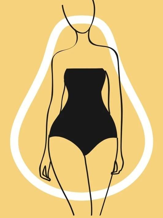 谁说梨型身材穿衣显胖?那是因为你没掌握这些穿法技巧