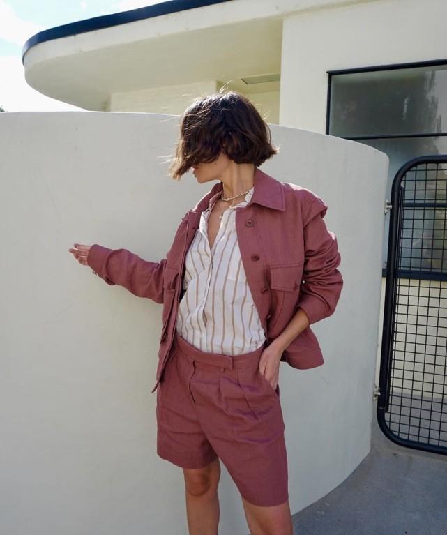 今夏西装短裤又火了,显瘦高级又百搭,可不懂这些搭配精髓也白费