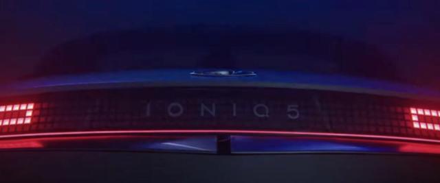 现代IONIQ 5最新预告图 将于2月2日正式亮相
