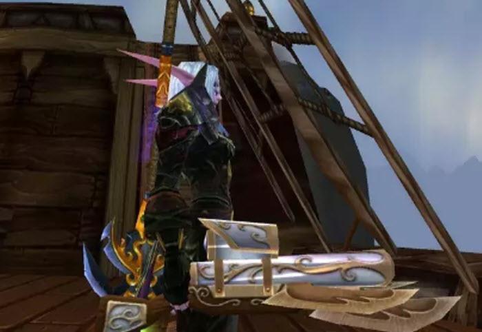魔兽怀旧服:现阶段帅且强的罕见武器!1周1次机会,主城站街无敌