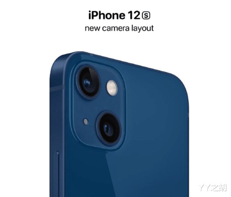 苹果iPhone 12s渲染图曝光:双摄采用对角线排列!