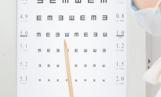 我们经常用到的视力表,你知道怎么看吗?