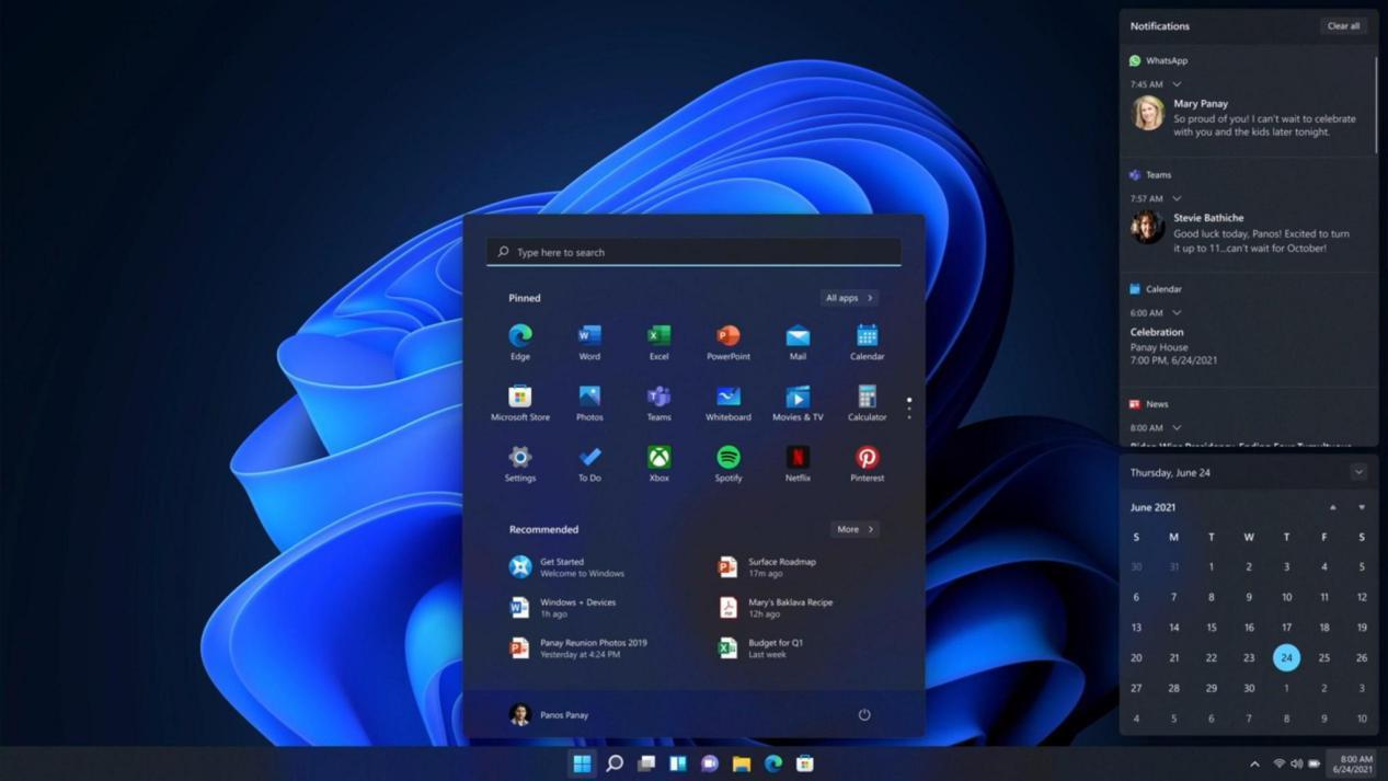 Windows 11发布提上日程,细数新版本的大变动