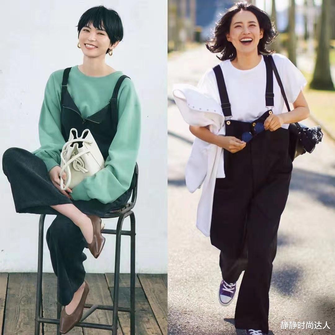 成熟女性的穿搭不必太浮夸!日系搭配有减龄感,时髦显高级
