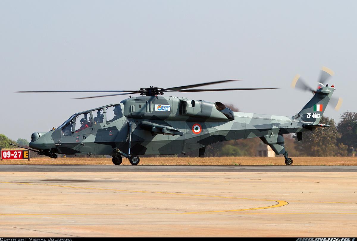 一身城市块状迷彩的lch轻型武装直升飞机.