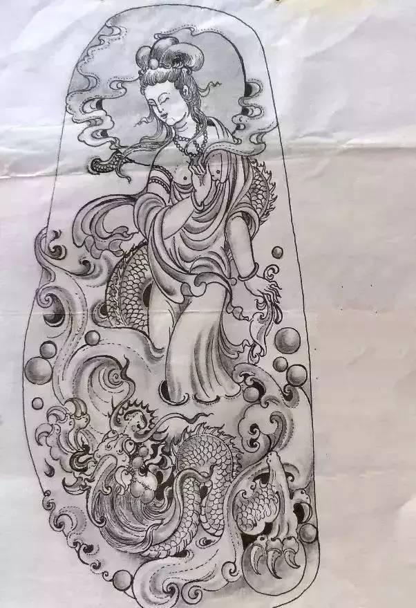 翡翠玉雕设计手稿图 绝美的玉雕手稿! 一般人看不到!