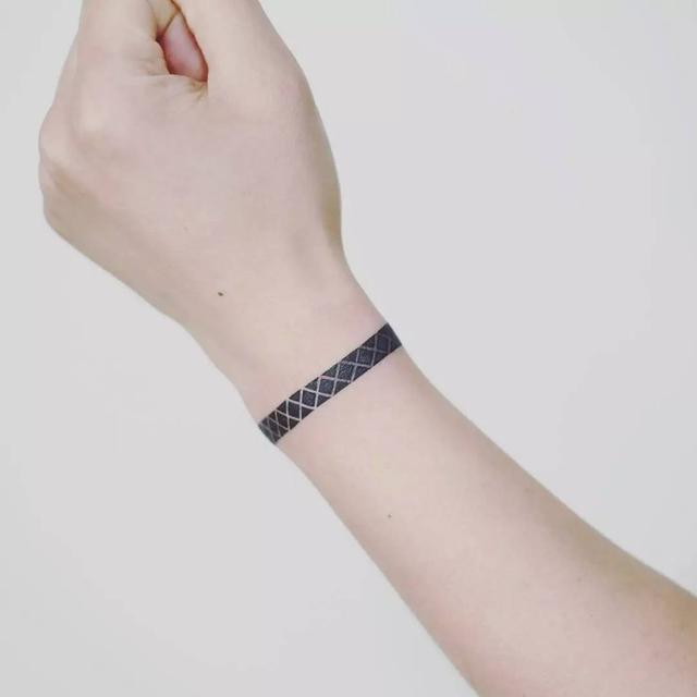 纹身图案小清新手环