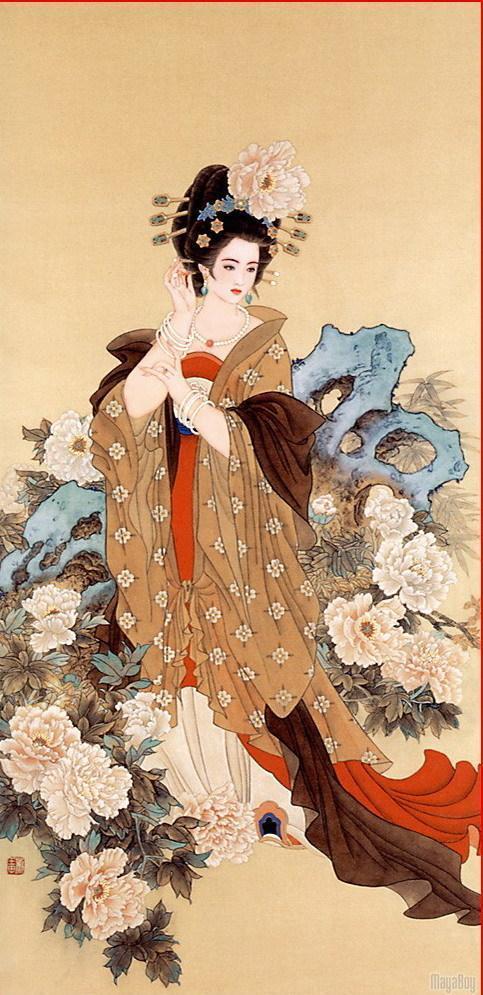 中国古代四大美女:西施(沉鱼)