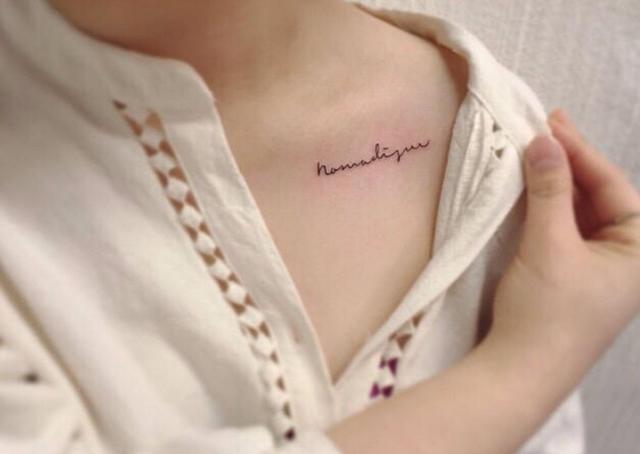 天暖了, 女生纹身纹在哪里最好看? 一不小心就美到你了图片