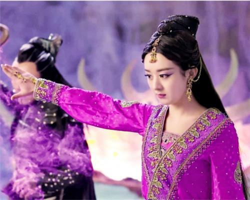 紫衣古装美人大盘点: 霍思燕清纯, 赵丽颖冷艳, 她美的令人心醉!