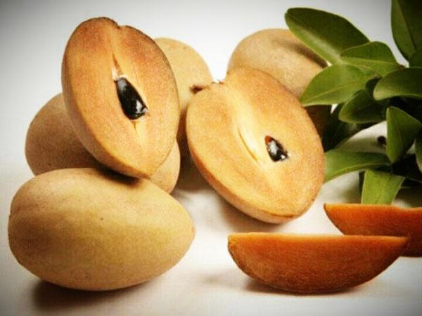 奇果硒 钙含量高居水果 蔬菜之首, 有防癌抗癌功效