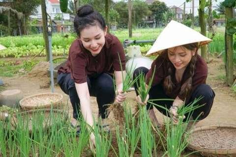 越南的农村姐妹花, 一个娇一个俏, 漂亮勤快, 最大心愿是嫁入中国图片